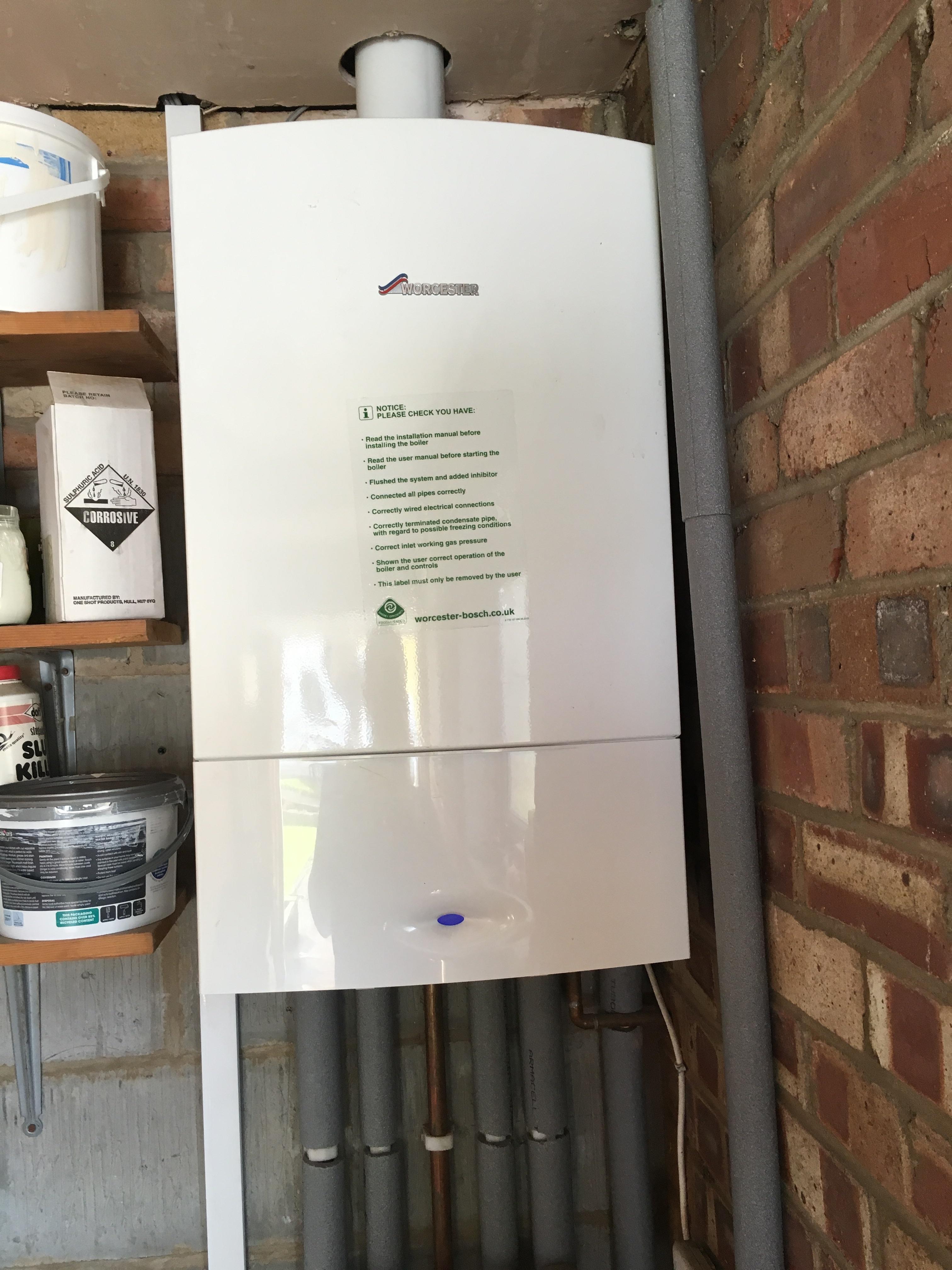 New boiler in Leeds - Paul Scurfield Plumbing and Heating